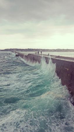 Digue du Port de Socoa
