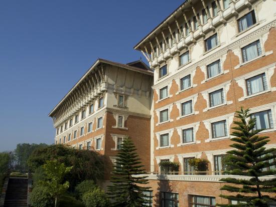 External facade of hotel