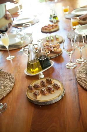 Lodge Andino El Ingenio: Dégustation & pisco sour
