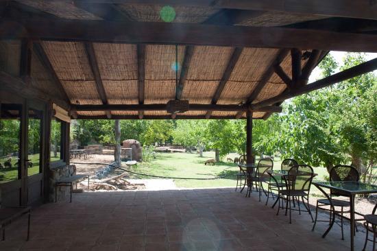 Lodge Andino el Ingenio: Terrasse annexe