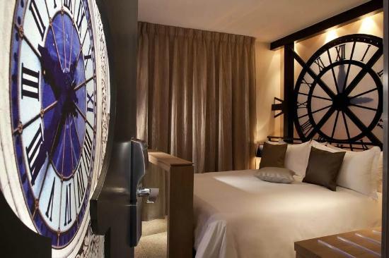 Hôtel Design Secret de Paris: Chambre Musée d'Orsay