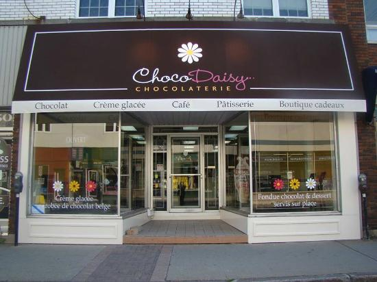Chocodaisy chocolaterie drummondville restaurant avis for Club piscine drummondville