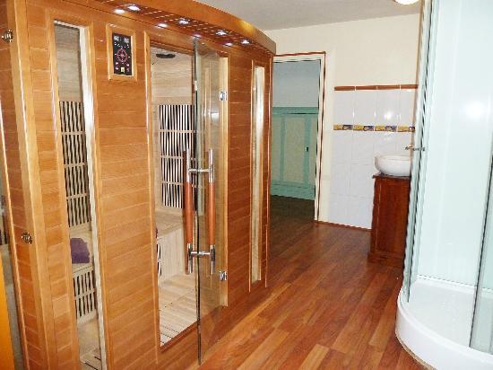 La Rossignolerie: Sauna infrarouge privatif