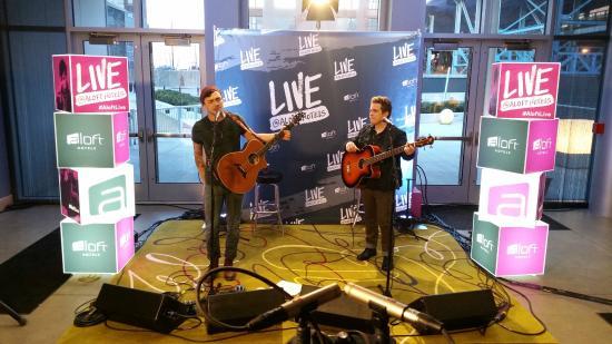 Aloft Cleveland Downtown: Live at Aloft