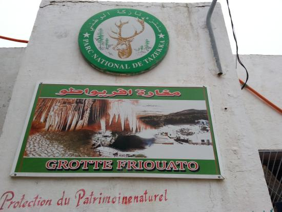 Taza, โมร็อกโก: Friouato caves presentation