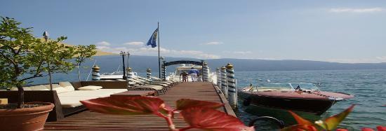 Hotel Baia D'Oro: Terrazza Lago