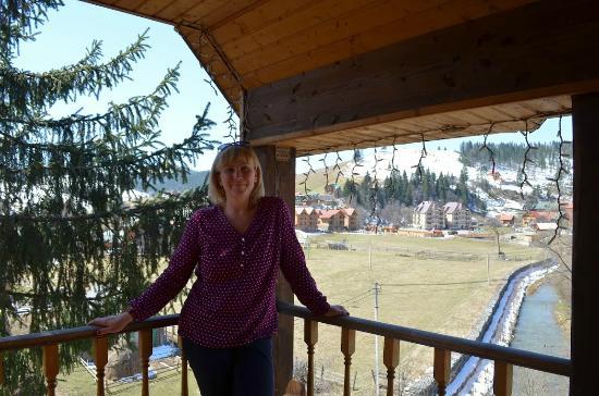 בוקובל, אוקראינה: на балконе