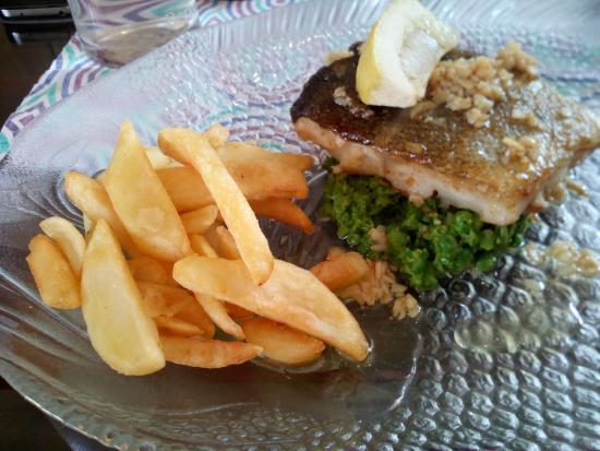 Harveys: Filet de poisson à l'aïl