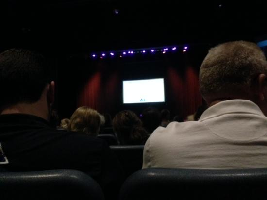 American Music Theatre: just sat down. row T