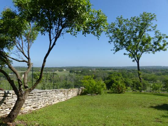 A Barn at the Quarry B&B : La Casita: the view from the private hill-top terrace