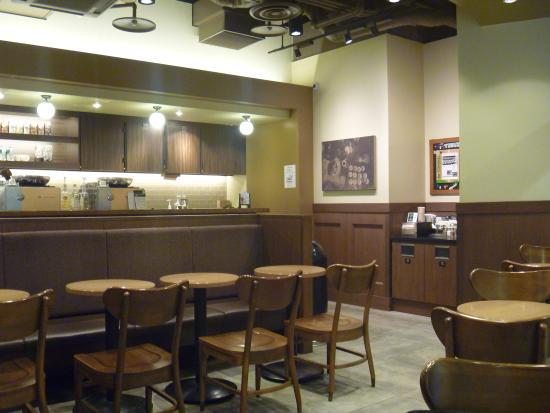 Starbucks Coffee Osaka Maru Building : 店内の様子