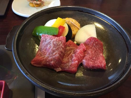 Hotel Reimei: 大分牛のとうばんやき