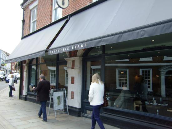 Brasserie Blanc : Front of Restaurant