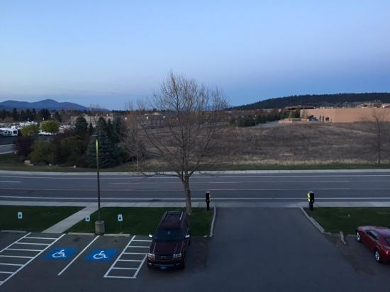 Quality Inn & Suites : View facing East toward Idaho
