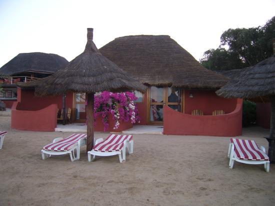 notre chambre sur la plage g nial picture of lookea royal baobab somone tripadvisor. Black Bedroom Furniture Sets. Home Design Ideas