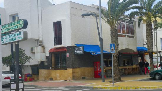 Bar La Gamba de Oro: Fachada restaurante