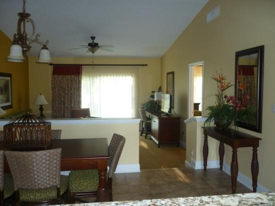 Inside a standard 2 bedroom bungalow - Picture of Holiday Inn Club