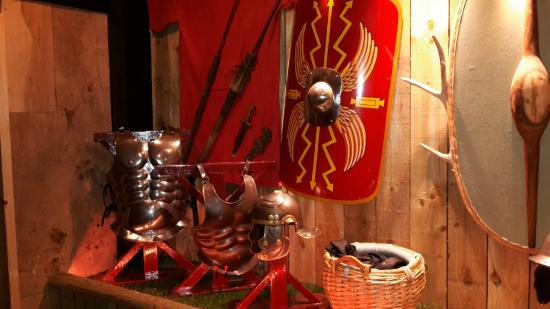 Dewa Roman Experience: item in the small museum