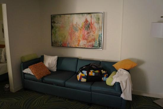 SpringHill Suites by Marriott Orlando Lake Buena Vista in Marriott Village: The spacious room