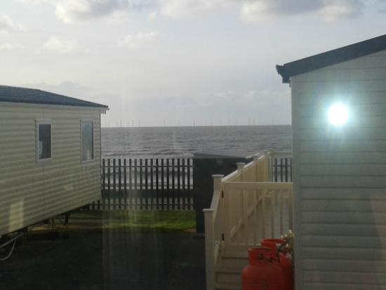 Golden Sands Holiday Park Rhyl: view from window