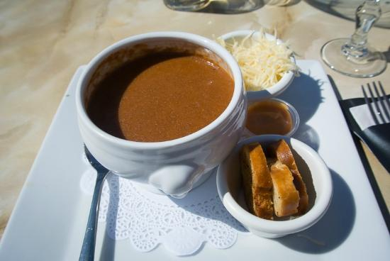 Hôtel et Restaurant Hamiot : Fishsoup - excellent!