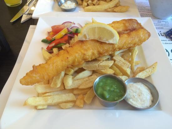Mushy Peas: Cod and chips £8.99
