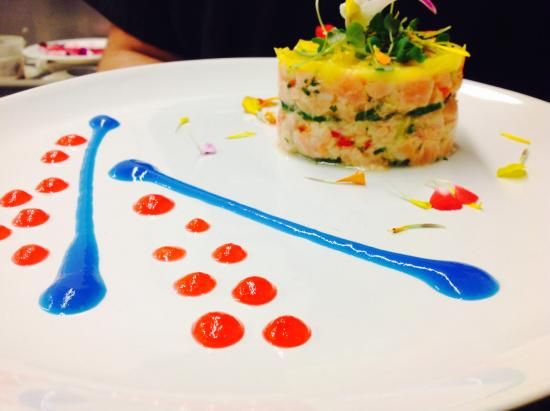 Salmon Tartar Picture Of Tapas Picasso Spanish Restaurant