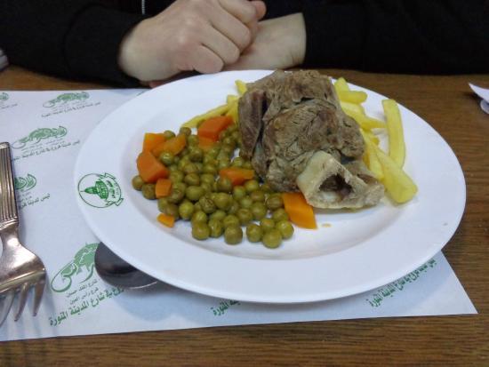 Al-Quds : Agneau légumes