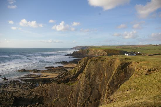 A five minute walk from the Bude Holiday Resort