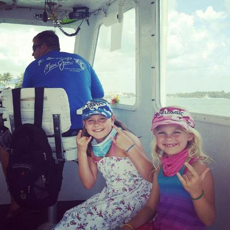 Samana Expert Fishing Charters: My daughter's had a Blast on this boat fishing Saturday.  Captain Josh and mate Mike were amazin