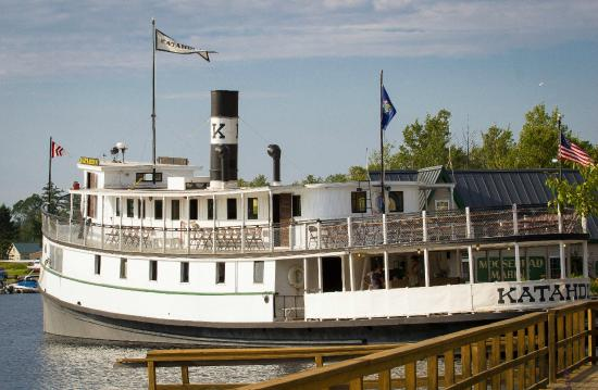 Greenville, ME: Steamship Katahdin