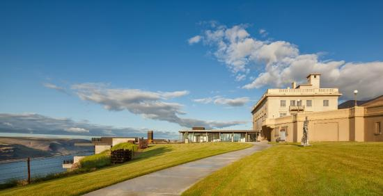 Goldendale, WA: Maryhill Museum of Art and its new wing, opened in 2012.
