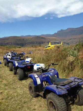 Drakensberg Quad Tracks and Adventures