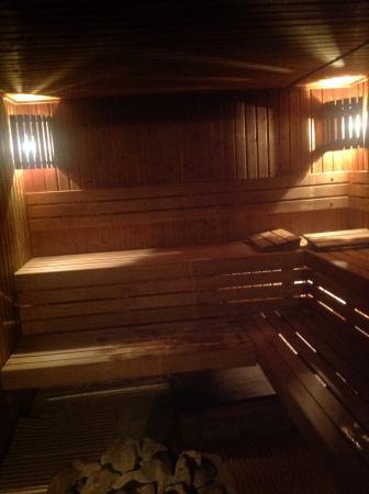 Hammam les IDJER: Notre sauna