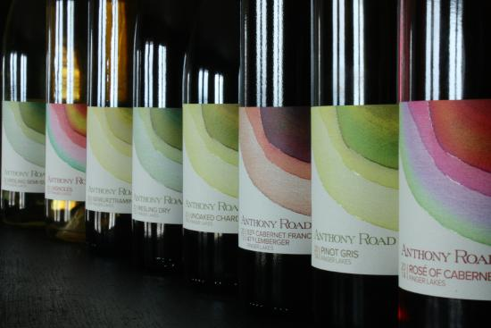 Anthony Road Wine Company: Our wines