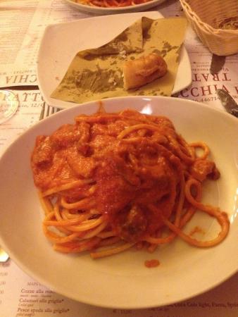Photo of Italian Restaurant Trattoria Vecchia Roma at Via Ferruccio, 12b/c, Rome 00185, Italy
