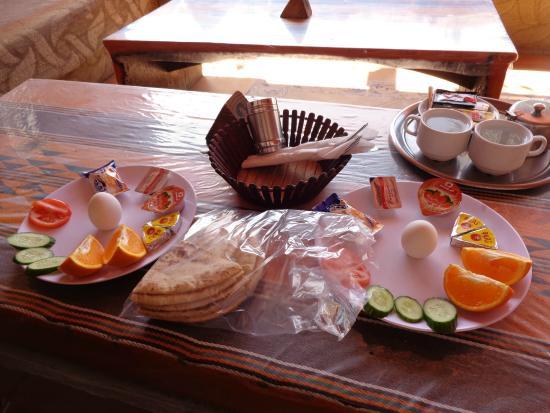 Bedouin Moon Village: Petit déjeuner