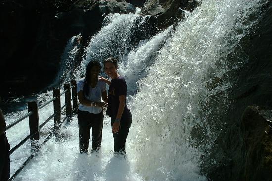 Tirunelveli, India: the falls in full blow
