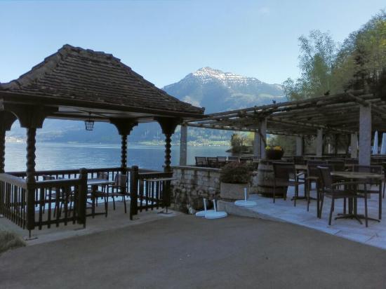 Seehotel baumgarten picture of see restaurant baumgarten for Baum garten