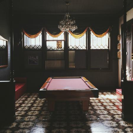 Aldea Hostel San Jose: Pool table