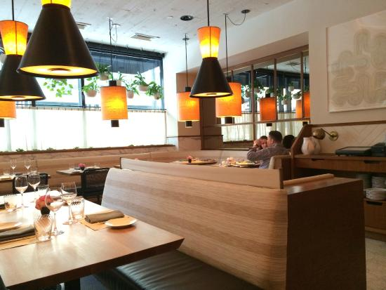 Photo of American Restaurant Little Park at 85 W Broadway, New York City, NY 10007, United States