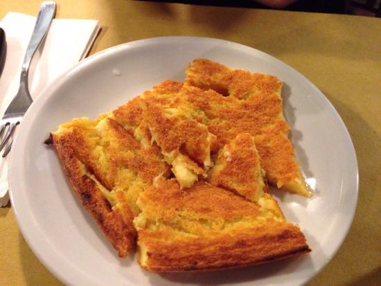 Pizzeria Vecchio Forno Garibaldi : Farinata..buonissima!!