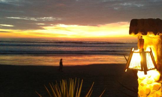 Cuna Luna Sea Lodge : fantastischer Sonnenuntergang