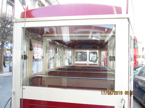 Dublin Road Train Tours: Road Train from second coach