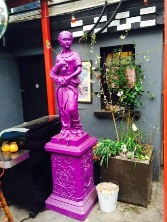 Beer Garden Statues Picture Of Fionnbarra 39 S Pub Cork TripAdvisor