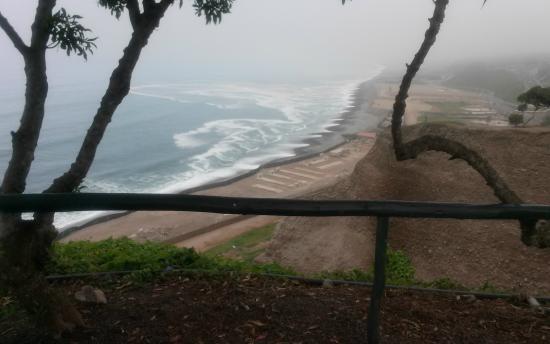 Hotel Soul Mate Inn: Desde  aqui se ve parte de la playa