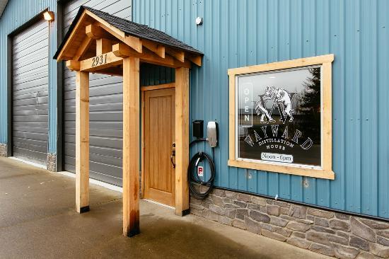Courtenay, Canadá: Front Entrance