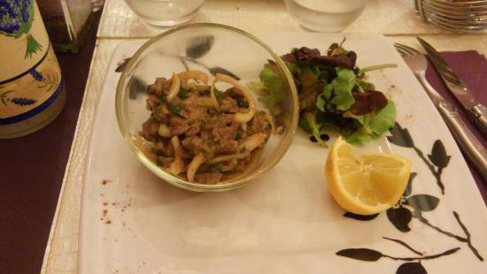Les lavandes : La salade de boeuf Thai au curry