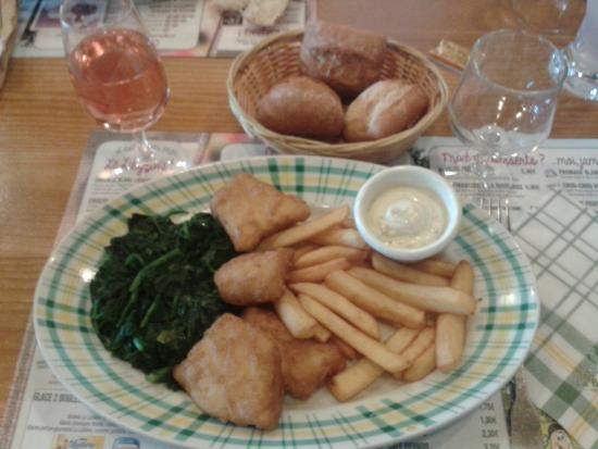 La Pataterie : fish and chips