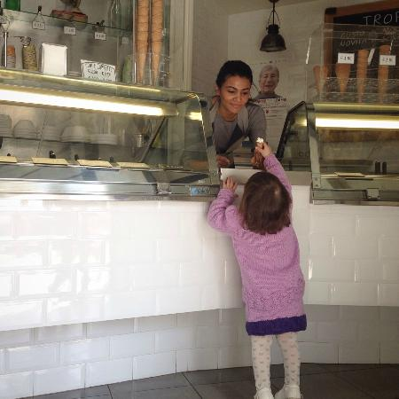 Tropical Ice Gelateria: A little present